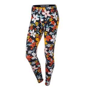 Nike Floral Leggings Sz M